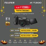 Enjoy Festive Bonanza deals with Fujifilm's wide range of cutting-edge Digital Cameras